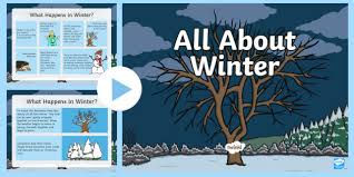 Winter Powerpoint All About Winter Powerpoint Hibernation Migration Winter