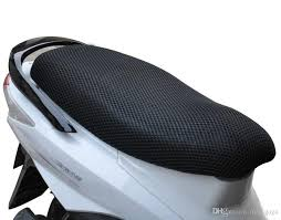3d honeycomb summer cool mesh polyester motorcycle seat covers anti uv breathable seat covers universal for honda motor scooter street bike summer