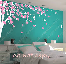 sun wall decal trendy designs: blowing cherry blossom tree cute style simple shapes wall decals furniture and accessories dorm room decor pinterest simple