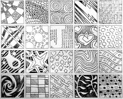 Official Zentangle Patterns Simple Design