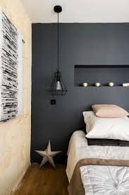 master bedroom lighting. This Lovely Scandinavian Inspired Master Bedroom Showcases A Rather Industrial Twang With Cage Pendant Light Lighting