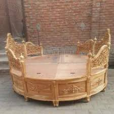 round bed furniture. Hand Carved Victorian Round Bed Round Bed Furniture