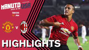 Manchester United 1-1 AC Milan (9-8) | ALL 26 PENALTIES | Highlights |  Watch Tour 2018 LIVE on MUTV! - YouTube