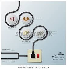 graph curve stock photos royalty images vectors shutterstock electric wire line business infographic design template