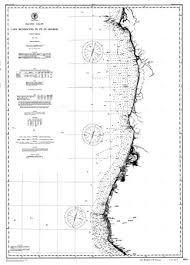 California Nautical Charts Amazon Com Vintography 18 X 24 Canvas 1891 California Old