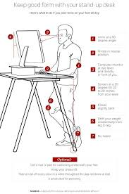 office desk height best stand up ideas on standing desks how to use a yes there