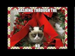 Grumpy Cat Christmas Memes With Xmas Music - YouTube via Relatably.com