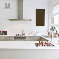 super white quartz stone kitchen countertop vanity top or table top