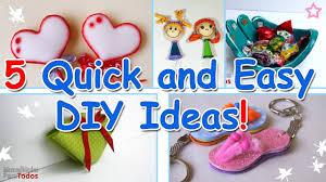 Easy Diy 5 Minute Crafts 5 Quick And Easy Diy Ideas Ana Diy Crafts