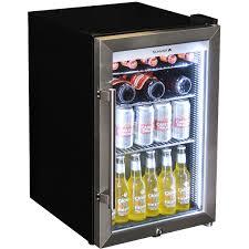 outdoor alfresco bar fridge triple glazed glass door plenty options