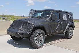2018 jeep lifted.  lifted 2018 jeep wrangler jl unlimited spied up close in jeep lifted