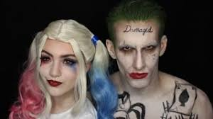 harley quinn joker squad makeup tutorial