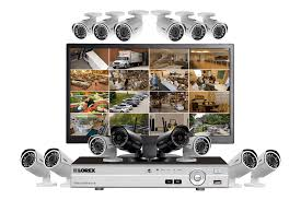 Complete Security System With Monitor  Wired P Outdoor - Exterior surveillance cameras for home
