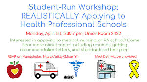 ucs letter of recommendation student run workshop realistically applying to health