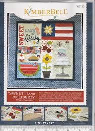 Kimberbell Designs Sweet Land Of Liberty Pattern By Kimberbell Designs