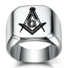masonic steel gold g inlay
