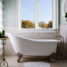 randolph morris 60 inch cast iron slipper clawfoot tub no drillings within redoubtable clawfoot bathtubs for