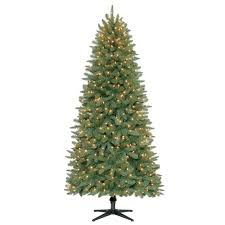 Shop GE 4ft PreLit Colorado Spruce Slim Artificial Christmas Pre Lit Spruce Christmas Tree