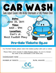 Free Car Wash Flyers Designs Car Wash Flyer Template Authorization Letter Pdf
