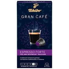 It doesn't matter which capsule system you prefer, with mr & mrs mill you will always have top quality coffee with an extraordinary taste. Buy Tchibo Nespresso Gran Cafe Forte Espresso Coffee 10 Capsules 55g Cheaply Coop Ch