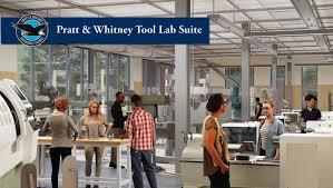 Design Lab Millinocket Umaine Receives 1 Million Pledge From Pratt Whitney For