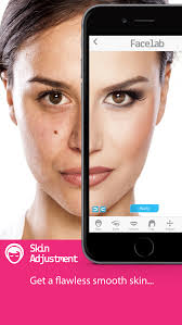 facelab perfect makeover cosmetic retouch free selfie makeup app screenshot 1