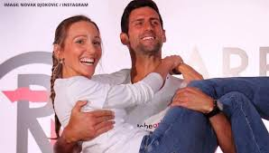 (cnn) novak djokovic was just 11 years old and asleep in his bed in belgrade when a loud explosion, followed by the sound of shattering after dijana regained consciousness, the djokovic family entered the unlit streets of belgrade and tried to make their way to the djokovic pictured with his wife jelena. Novak Djokovic Sarcastically Slams Nasty Rumours Of Divorce With Wife Jelena