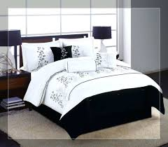 black comforter sets medium size of and white king bedding luxury velvet set
