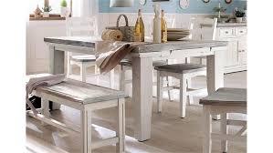 Esstisch Opus Tisch Kiefer Massiv Weiß Vintage 180 220 Cm