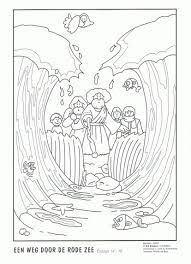 Mozes Kleurplaat