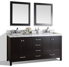 modern bathroom undermount sinks. Modern Bathroom Vanity With White Marble Top And Undermount Sinks. View Detailed Images (4) Sinks M