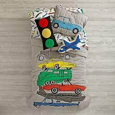 Transportation Bedding and Quilt | The Land of Nod & Traffic Jam Bedding Adamdwight.com