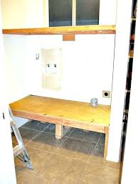 diy washer dryer pedestal stand platform pedestals with drawers plans