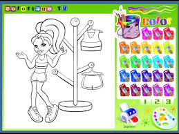 Small Picture Polly Pocket Coloring Pages For Kids Polly Pocket Coloring Pages