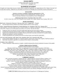 Extracurricular Activities List Resume Sample