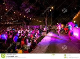 Festival Of Lights San Antonio San Antonio Texas November 4 2017 Blurred People Who