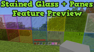 stained glass minecraft be equipped minecraft glass block be equipped minecraft block be equipped glass pane