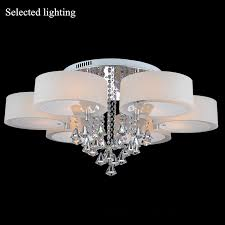 multi color crystal chandelier remove control pendant light crystal ceiling chandelier led lighting foyer light fixture 110v 220v crystal chandelier led