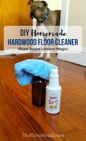 diy hardwood floor cleaner with thieves cleaner