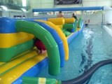 <b>Baby pool inflatable</b> duck Lifeguard <b>boat</b> float quaker @LifiaTubeHD