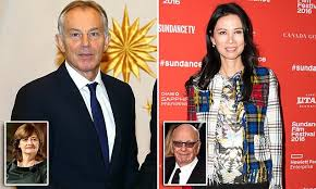Tony Blair's secret night with Rupert Murdoch's wife that led to divorce  revealed | Daily Mail Online