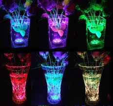 Underwater Led Tea Lights Multi Color Submersible Led Lights For Vases Underwater Led