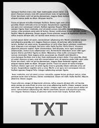 Text Document Txt File Text Document Icon