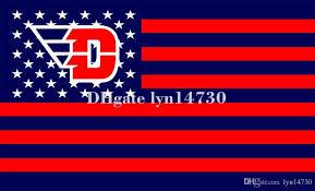 Flyers Flag Dayton Flyers Us Star Stripe Flag And Ncaa Logo Flag Skull Flag 90x150cm Polyester Digital With 2 Metal Grommets