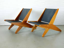 canvas folding chairs. Simple Chairs American Pair Of MIdCentury Canvas Folding Chairs For Sale And D