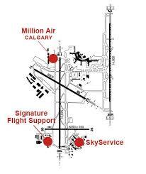 Airport Fbo Info For Cyyc Yyc Calgary Intl Calgary Ab