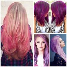Hair Colors 2018 Perfectly Shocking Colors