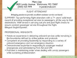 image titled write a cv for a cabin crew position step 19 bilingual flight attendant jobs