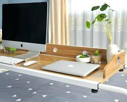 rolling table over bed bed table sliding bed desk rolling bed desk for working and eating