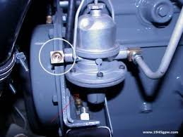 g503 wwii jeep fuel pump install applies to 1942 1943 1944 1945 2 before you install your fuel pump look at what is going to get in the way first the top brass fitting must be installed on your pump first